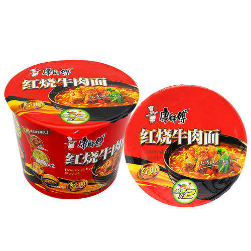 Popular Chinese instant food Master Kong instant noodles for supermarket
