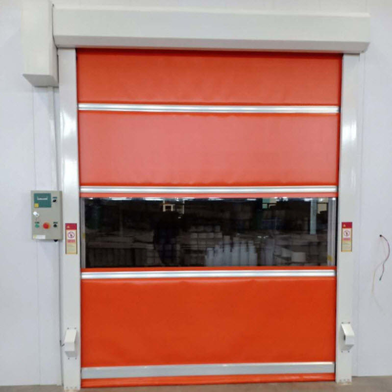 High-quality automatic induction high-speed vertical roll-up fast door
