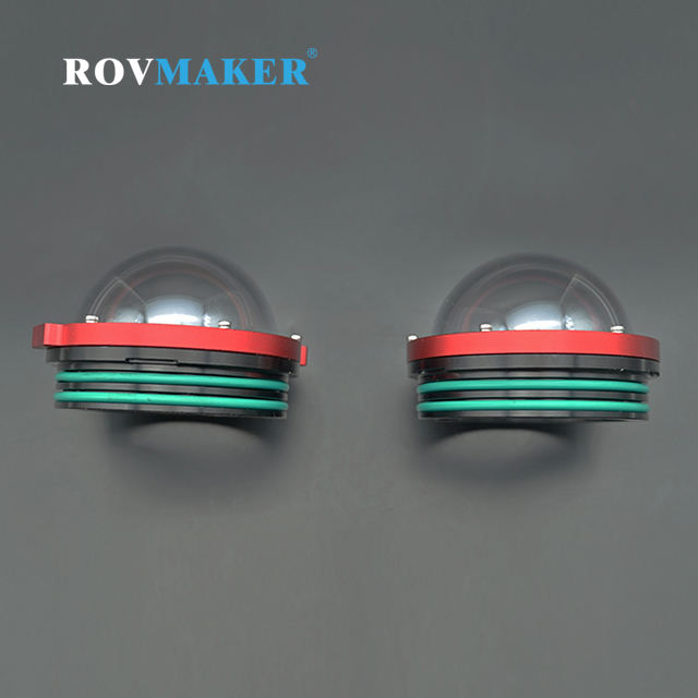 Rovmaker 10Mpa Optical PC Dome End Cup of Underwater ROV Dome Lens