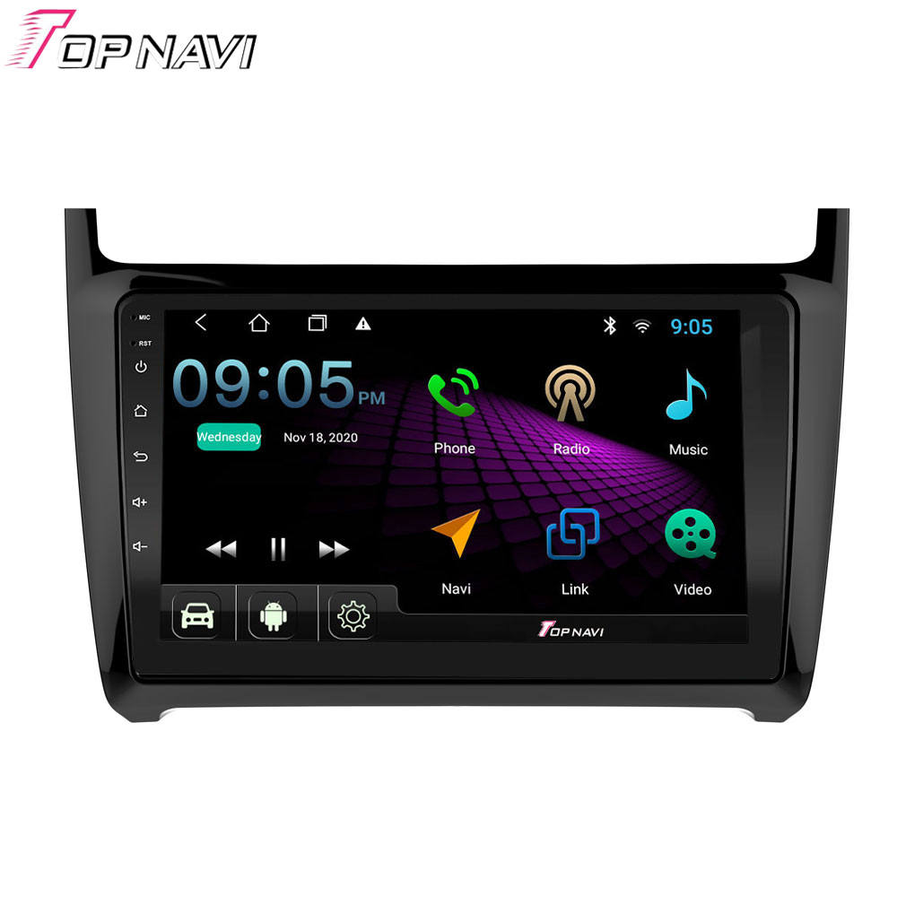 9 Inch Android 10.0 Quad Core Multimedia Player Mobil untuk Volkswagen POLO 2012-2019 Mobil Dvd Player 2G + 32G