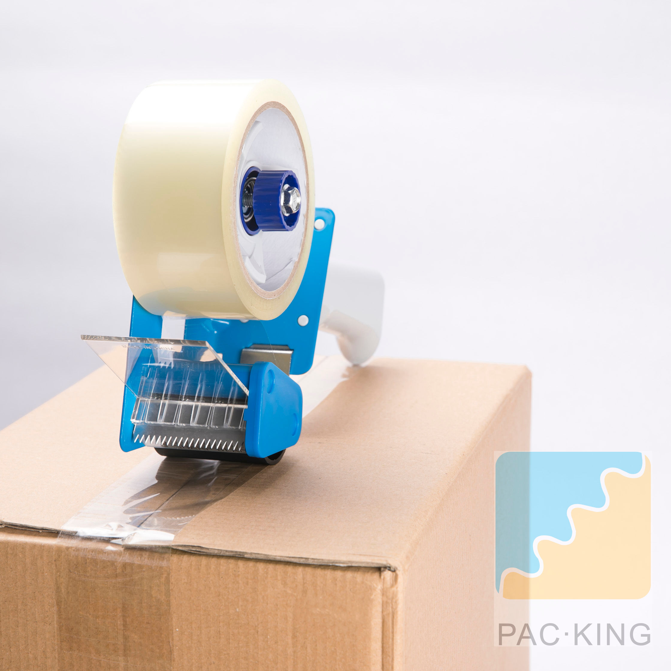 Heavy Duty Packaging Tape Dispenser with Rubber Handle Cover