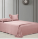 Home Textile Silk Bedding Sets Stain Bedding Set