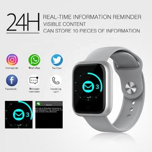 2021 new arrivals sport Heart rate blood pressure ip68 waterproof fitness android and ios bracelet smart watch phone