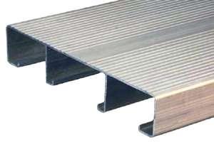 Extruded Aluminum Plank Flooring