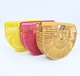 2020 New Wholesale Colorful Ladies Bamboo Clutch Fashion Beach Bag Natural Bamboo Handbag for Women