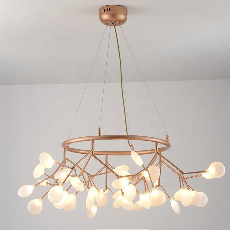 Factory price led firefly pendant light led high quality Restaurant Bedroom project chandelier