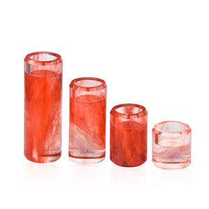Colored Nordic Home Decoration Table Centerpieces Crystal Tea Light Candle Candlestick Holders