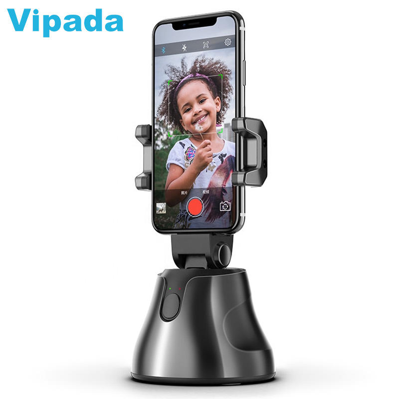 Robot Cameraman Apai Genie 360 Rotation Auto Face Object Tracking Smart Selfie Stick Smart Shooting Camera Phone Holder
