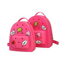 Wholesale Waterproof Silicone Cute Bag Candy Color Girls Backpack PVC Jelly Bag for Kids