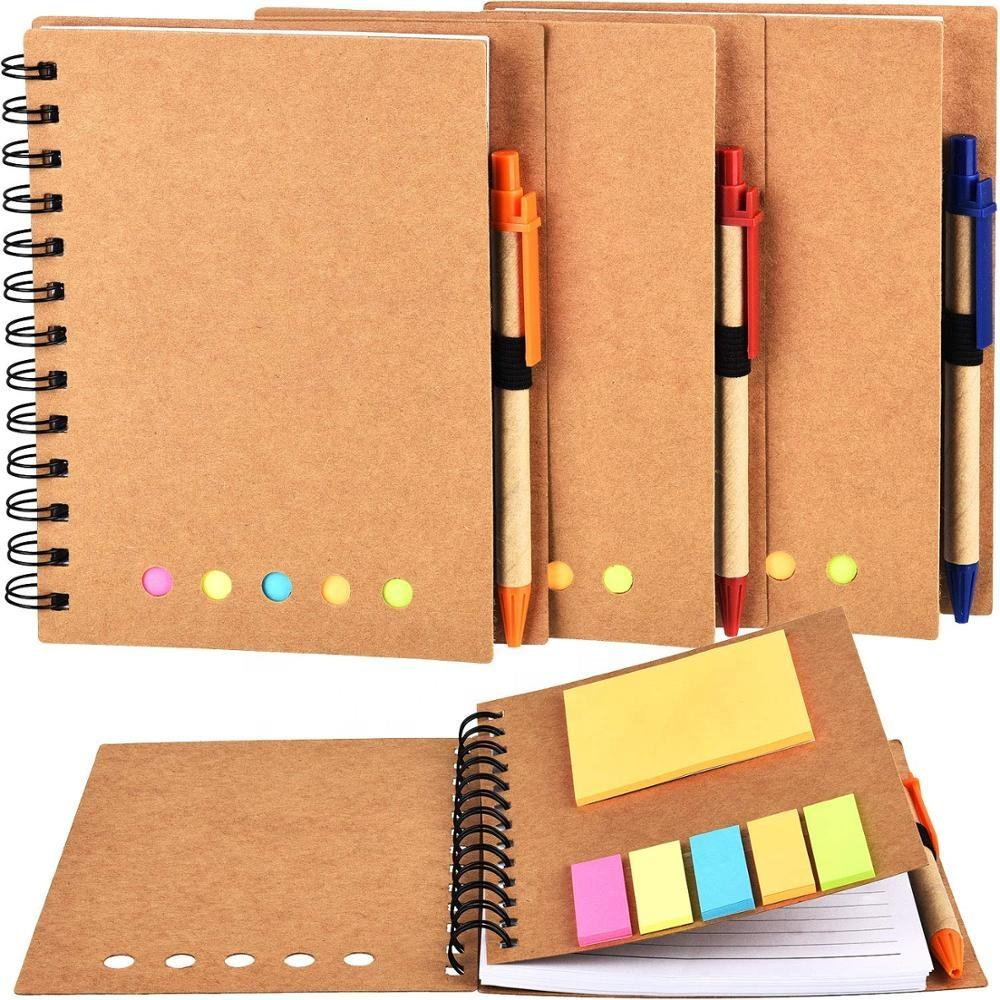 Promotion Notebooks Customizable From Power Supply Business Personalized Size Notebook With Plastic Ballpen