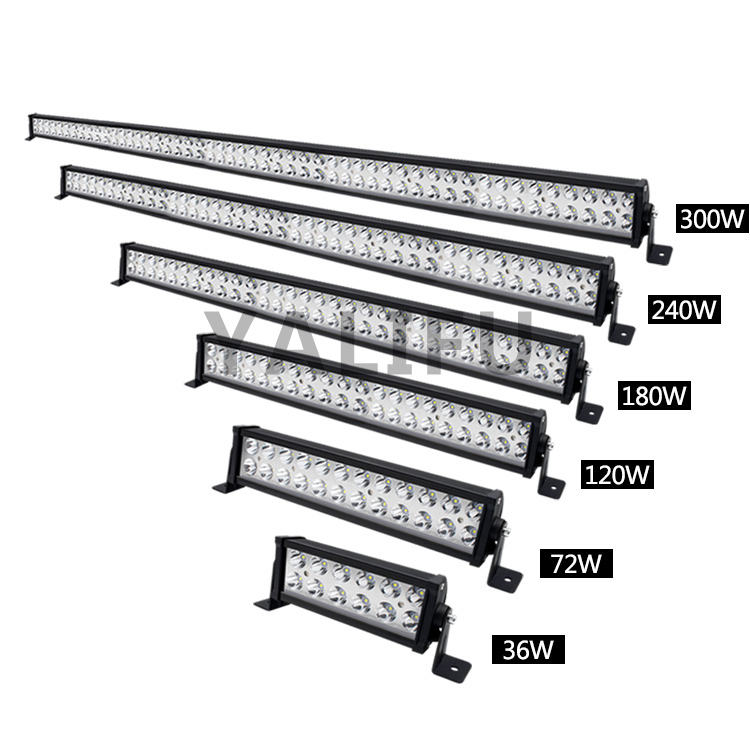 Super Helle Großhandel Combo 36 72 120 180 240 300W Led Bar Auto 4x4 2row Barra 42 zoll 52 inch led Licht Bar für Offroad