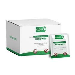 Individual pack customized package disinfectant- wipes