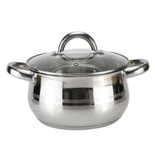 good price  induction capsule bottom insulated stainless steel cookware stock pot casserole