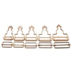 Dungaree Suspender Buckle slider with Rectangle Buckle Sliding Bar for carpenter dungarees buckle