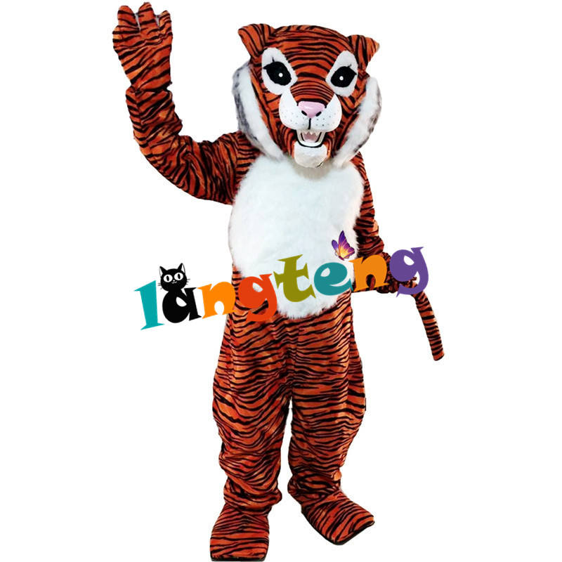 434 Corporate Event Furry Adult Realistisches <span class=keywords><strong>Outdoor</strong></span> Walking Tiger Kostüm