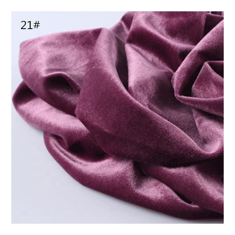 micro velvet 9000 or micro velvet 5000 velvet fabric for dress