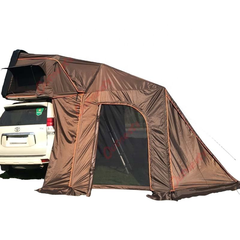 4 Persons Hard Shell Roof Top Tents with Annex and Awning