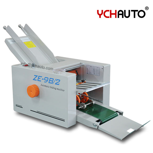 ZE-9B/2 automatic Feeder Paper Folding Machine with Counting function