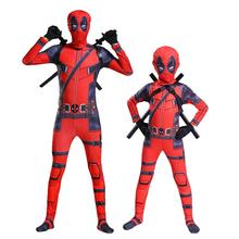 Hot selling kids Deadpool 2 Cosplay Costume Children Halloween Christmas party Costume Set