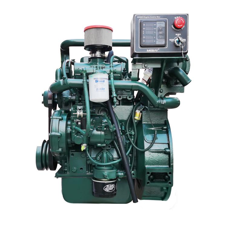 2 cylinder diesel engine 25hp 4 stroke 18kw small water cooled marine diesel engine