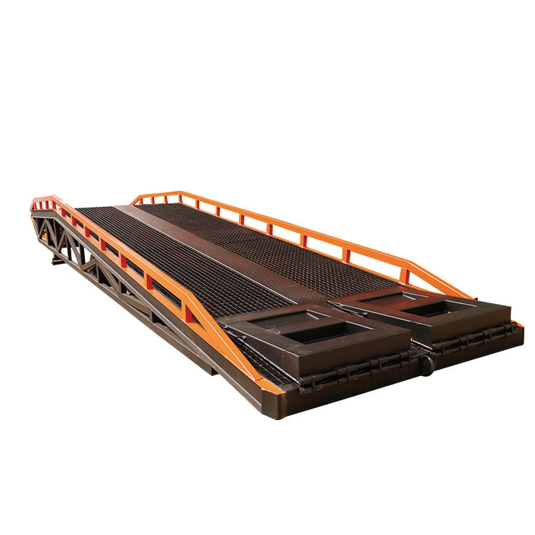 DCQH10 manufacturer 8t 10t portable loading dock ramp slope container movable loading dock ramp