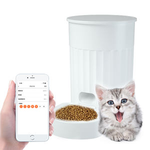 Factory OEM 4L Pet Feeder Tuya Cats Food Smart Wireless WiFi Pet automatic feeder