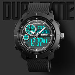 skmei 1361mens luxurious army green sports watches digital r