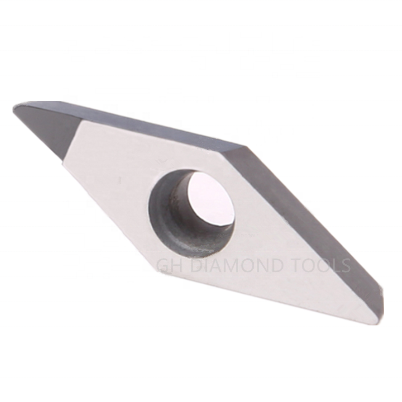 High-precision 2pcs NEW PCD VCGW 160402 PCD Diamond CNC blade insert