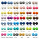 Soft Silicone Beads Wholesale 100% Safety BPA Free Baby Soft 20MM Loose Silicone Beads For Teething