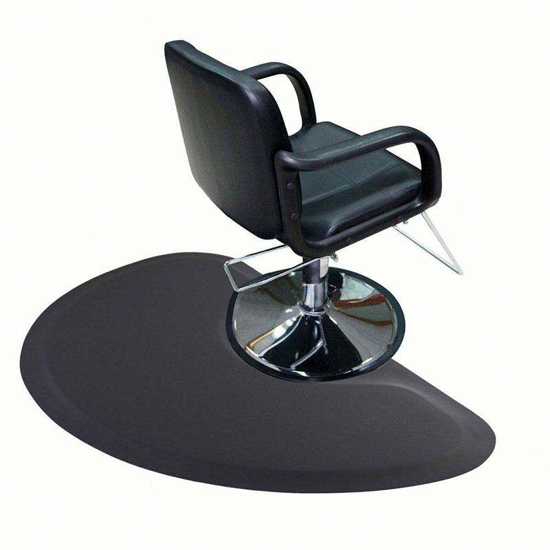 Best Quality Semi Circle Comfort Barber Shop Beauty Floor Mats Under Styling Chair