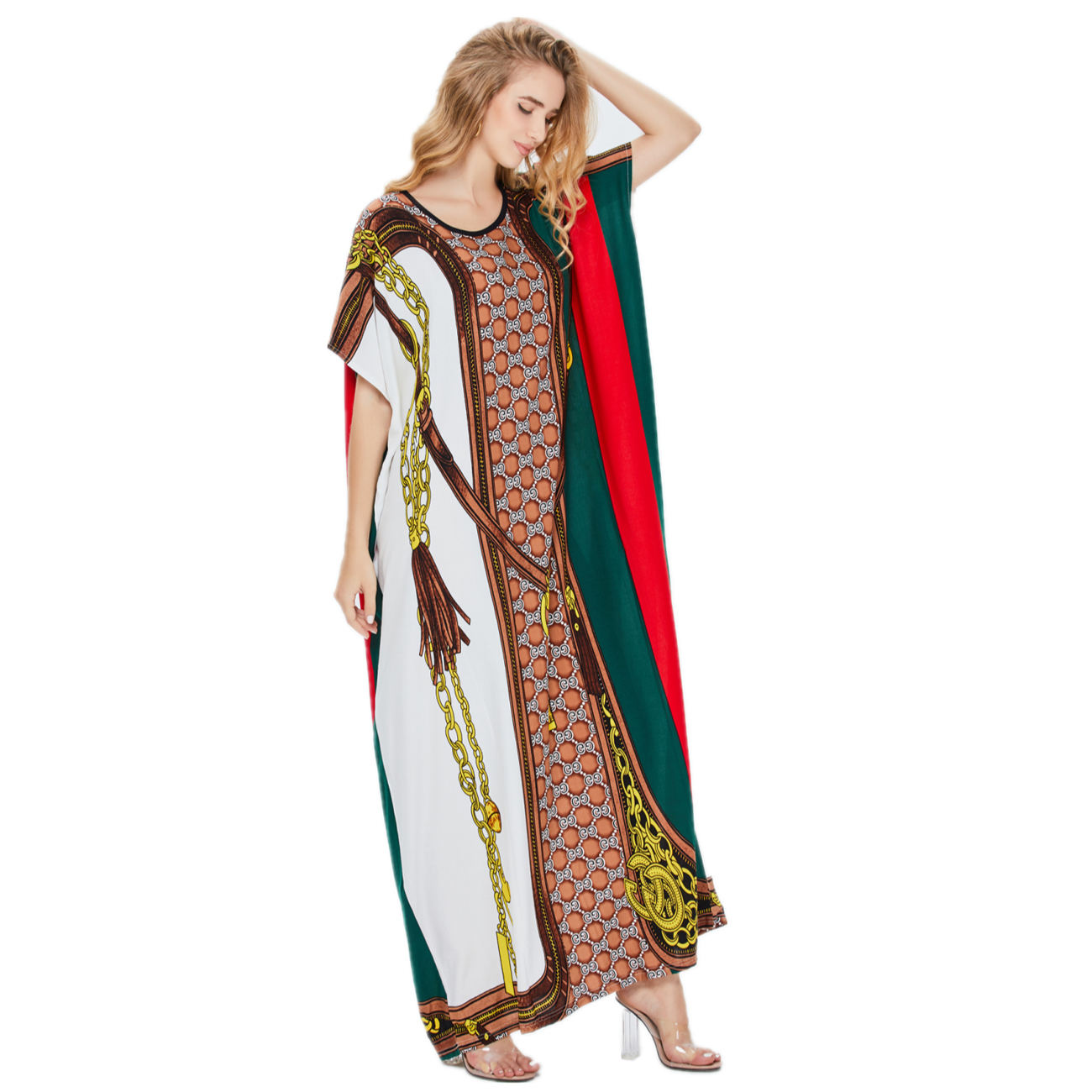 New Arrivals Summer Middle East National Robe soft fashion women Kaftan Muslim Dress