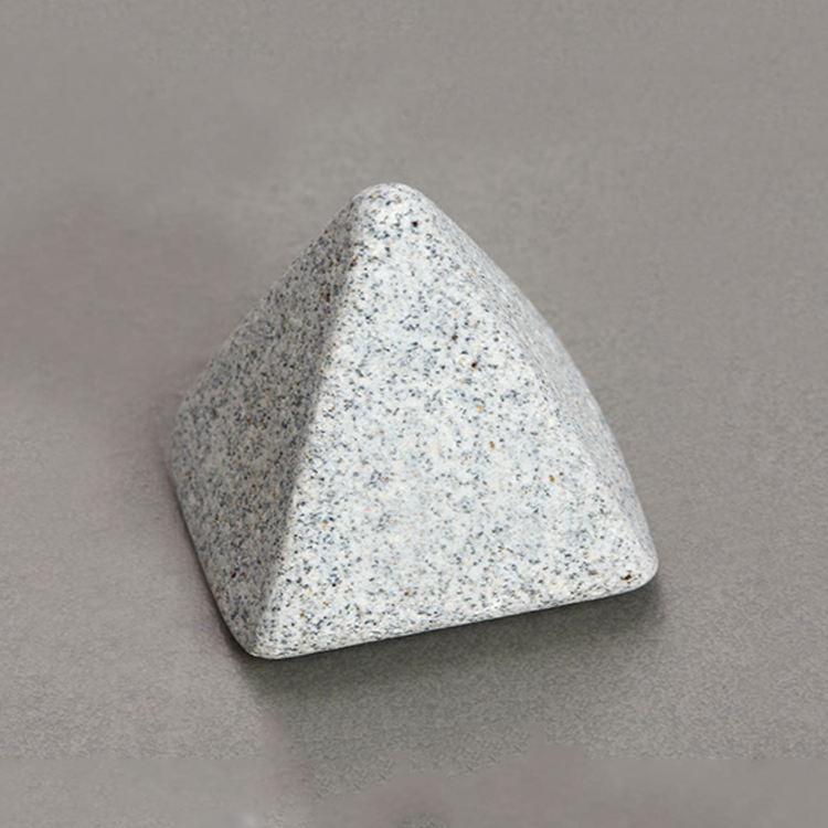 Médias en céramique de polissage abrasif Granulaire médias perle en céramique de polissage