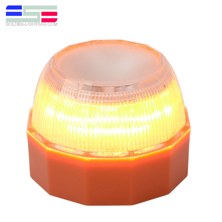 6LR61 9V alkaline battery powered V16 traffic warning light for car breakdown