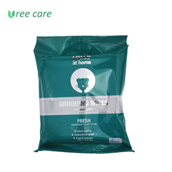 Pure Water Natural Moisturizing Biodegradable Fresh Cleaning Convenient Pet Grooming Wet Wipes