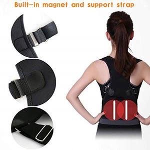 Adjustable Support Belt Improves Posture And Provides Lumbar Back Brace Lower Self-heating Magnetic