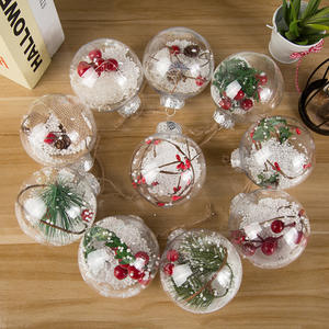 Latest Christmas Decoration 6cm Modelling Craft Solid Polystyrene Plastic Balls Round Spheres For Christmas Tree Decoration