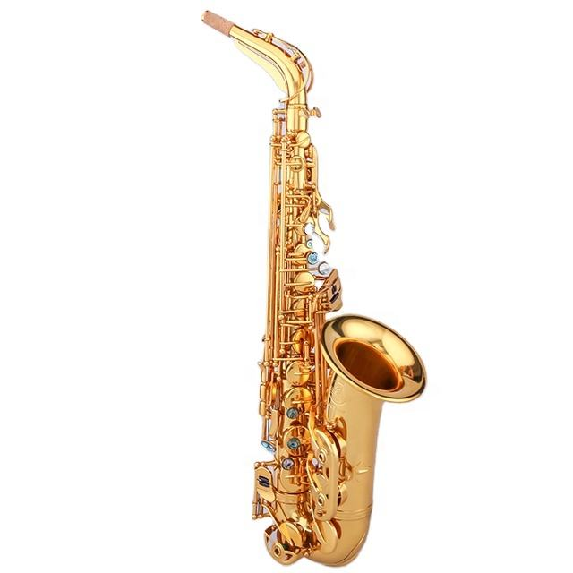 High Quality Eb Tone Alto Saxophone From China