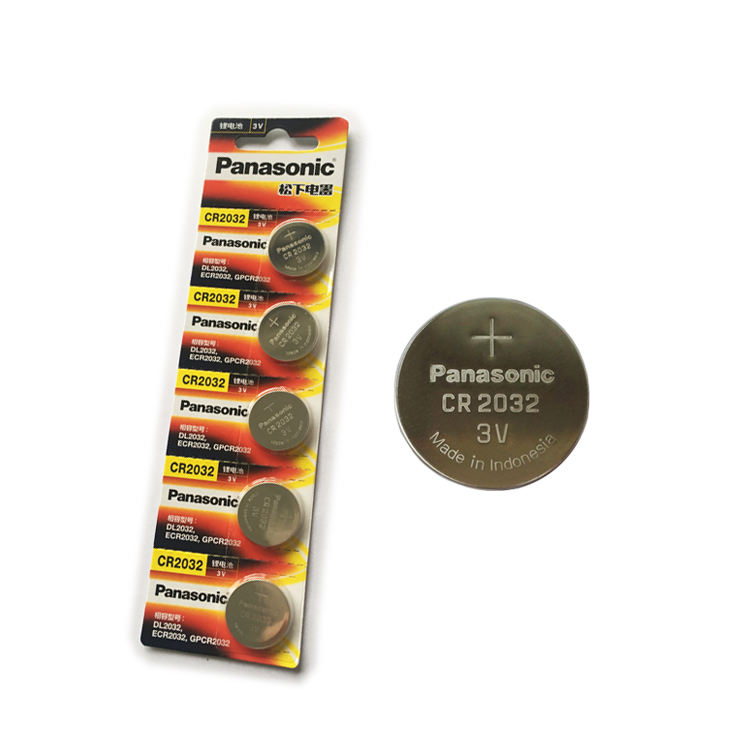 Panasonic General CR2450 CR2032 CR2025 CR1632 CR2016 Button Cell LiMnO2 Primary Lithium Battery
