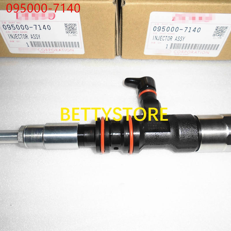 Original and new common rail injector 095000-7140 for Hy/undai Mighty Mega Truck Euro IV