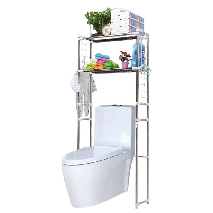 Detachable Bathroom Standing Over Toilet Shelf Toilet Bathroom Storage Rack