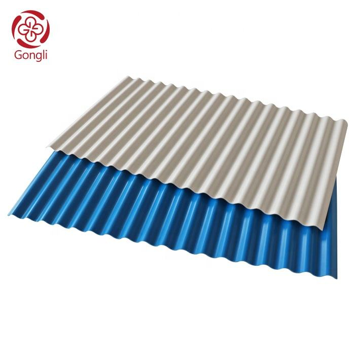 Excellent weather resistant performance pvc roofing sheet corrugated pvctile roof panel