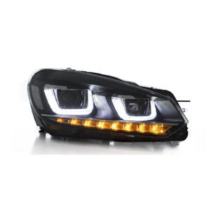 Suitable for 08-14 VW Golf 6 LED headlights