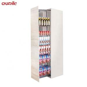 Pull Out Kitchen Wire Storage Pantry Unit