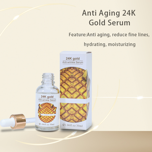 Skin Care ธรรมชาติ 24 K Gold เซรั่ม Ampoule Collagen Whitening GOLD Serum Anti Wrinkle Face Serum