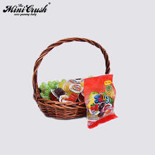 Healthy food and beverage packing 6pcs mini plastic bag jelly products