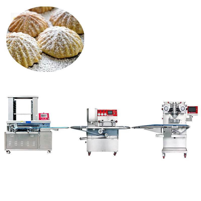 Automatic equipment making production line press mooncake maamoul moon cake machine
