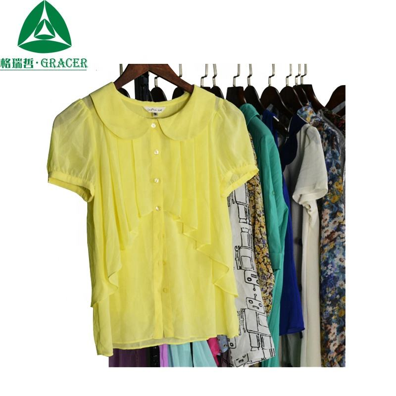 Used Ladies Silk Blouse Second Hand Branded Clothes Pacas De Ropa Nueva China