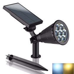 KMG LED RGB7solar garden lights outdoor
