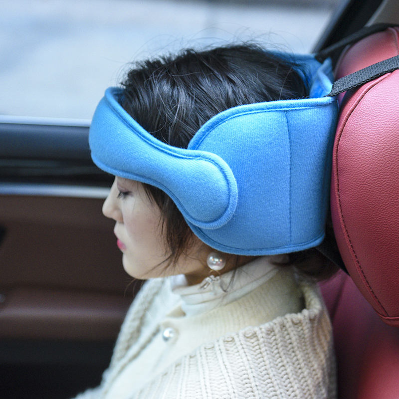 Cross border infant head fixation belt child car safety headrest seat head rest head relying on sleep assist belt