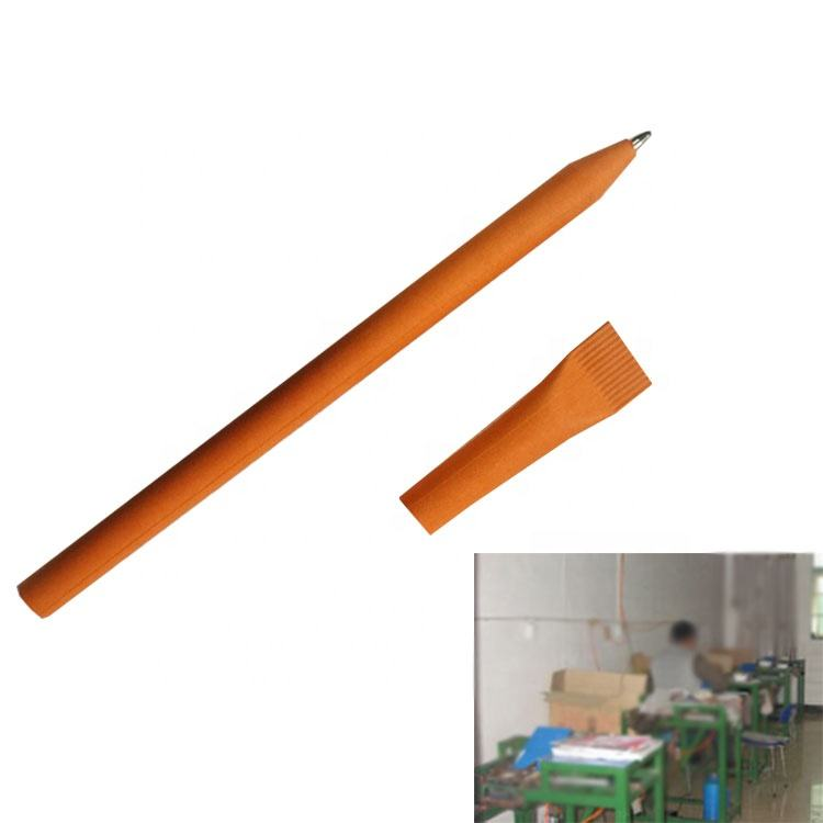 Recycled Eco Paper Pen Making Machine